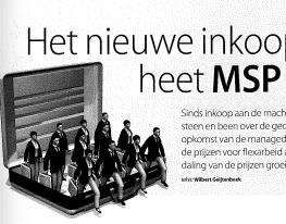Het nieuwe inkoopwapen heet MSP